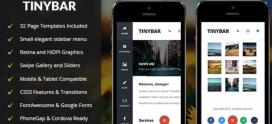 Tinybar Mobile (Mobile Template)