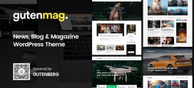 GutenMag – WordPress Theme for Magazine and Blog