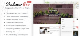 Shadower Pro – WordPress Theme for Bloggers